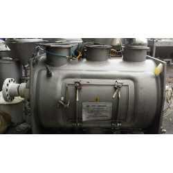 3675 - Mélangeur poudre Morton double enveloppe à socs de charrue - 600L