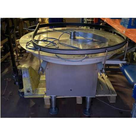 4159 - Ø800 STAINLESS STEEL TURNING TABLE