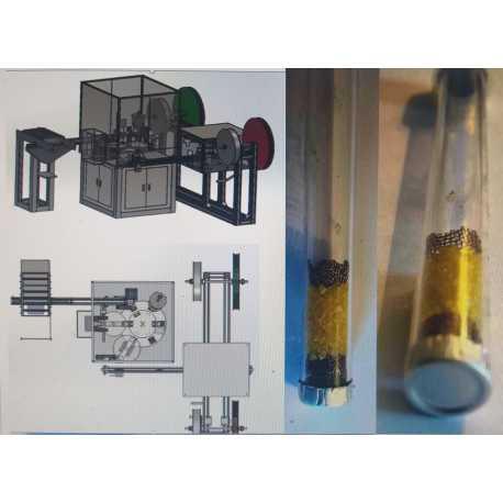 5104 - Remplisseuse tube verre