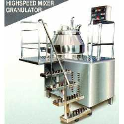 New high speed granulator mixer - Cosmetic and pharmaceutical industrial equipment