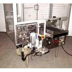 Etiqueteuse automatique ahésive ampoules Rota RE/100 matériel industriel d'occasion