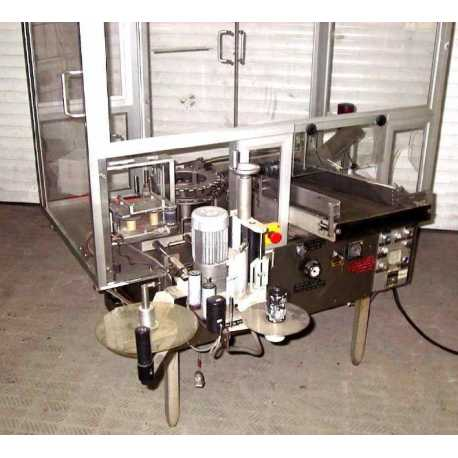 Rota automatic adhesive labelling machine for vials model RE/100 - Second-hand industrial equipment