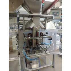Used Imanpack bagging machine model M600 Poly second-hand cosmetic and pharmaceutical equipment - front view