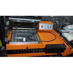 Cellophaneuse en L Minipack modèle FM 75 S.C - Matériel industriel d'occasion