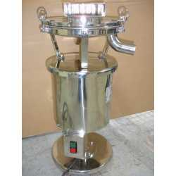Tablet dust collector - New cosmetic and pharmaceutical industrial equipment - front view