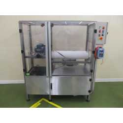 Used Coris bottle blower with stainless steel frame second-hand cosmetic and pharmaceutical industrial equipment
