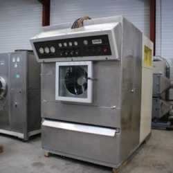 Used Dumoulin coating pan model IDA 250 second-hand cosmetic and pharmaceutical equipment outside view