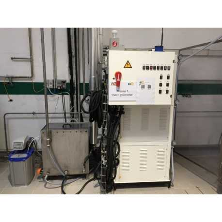 Used steam generator model MA 180 second-hand cosmetic and pharmaceutical industrial equipment front view