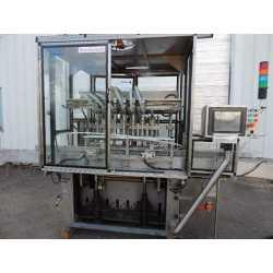 Remplisseuse liquide automatique tout INOX Serac Hera-8 - Matériel industriel d'occasion - Vue extérieure