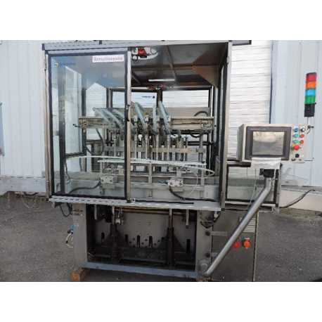 Used Serac automatic filling machine model Hera-8 - Second-hand industrial equipment - outside