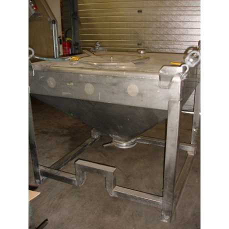 Used stainless steel tank 300L second-hand cosmetic and pharmaceutical industrial equipment