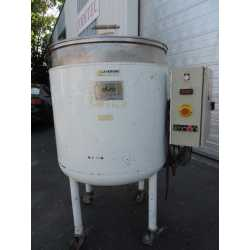 Used Olsa double jacket melting tank 300L second-hand cosmetic and pharmaceutical industrial equipment front view