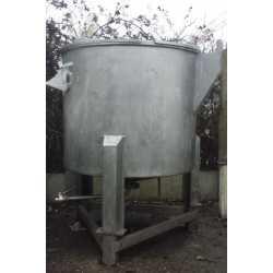 4128 - 1000L stainless steel storage tank