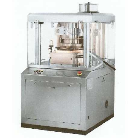 Rotary tablet press machine - New cosmetic and pharmaceutical industrial equipment