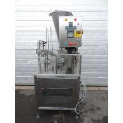 Doseuse operculeuse automatique Pack Line modèle NB 070 B Matériel industriel d'occasion - Vue de face