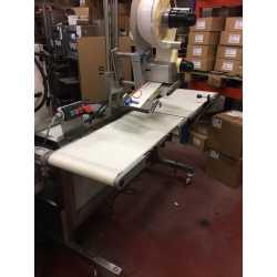 Etiqueteuse automatique Herma 1 tête - Matériel industriel d'occasion - tapis