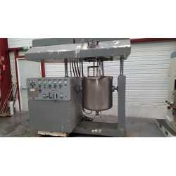 Used Olsa planetary mixer model Speedy Cream 200L second-hand cosmetic and pharmaceutical industrial equipment