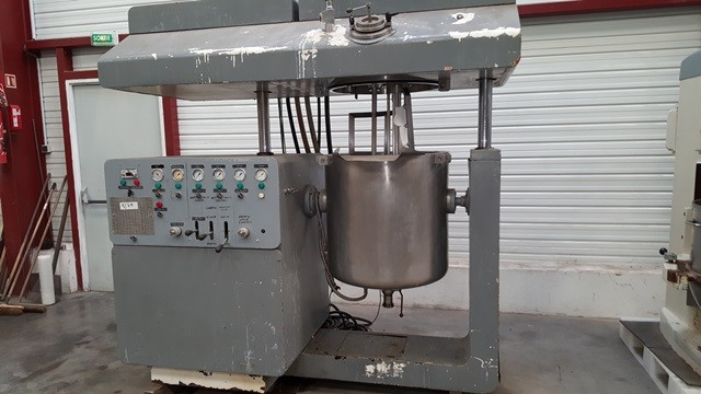 OLSA Speedy Cream planetary mixer model - 200L - Used Machinery
