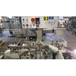 Automatic horizontal cartoner Marchesini BA 100 - Used cosmetic and pharmaceutical industriel machinery - top view