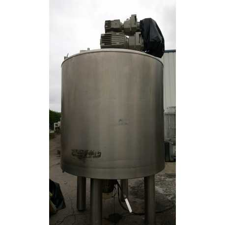 Second-hand 3000L Guerin emulsifying melting tank - outside view - EQUIMAT