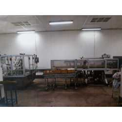 Second-hand Comas RF2000 automatic production line for perfume - EQUIMAT