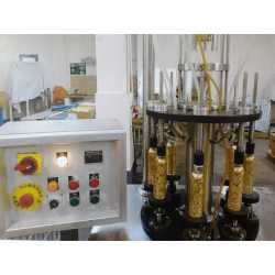 Second-hand Vatron Mau semi-automatic fabrication line for perfume - Filling machine - EQUIMAT