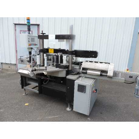 Two-sided used Harland labelling machine - Second-hand industrial equipment