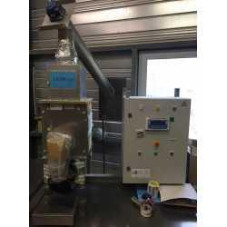 Doseuse pondérale semi-automatique Wam pour poudre - Matériel industriel d'occasion - Panneau de commande