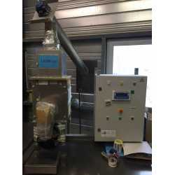 Used WAM semi-automatic filling machine for powder - Second-hand industrial equipment - control panel