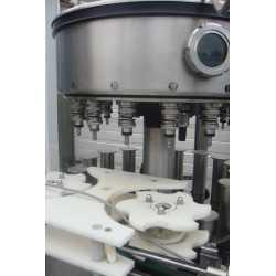 Remplisseuse liquide automatique rotative Stork - Matériel industriel d'occasion - Vue intérieure