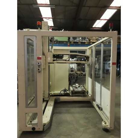 Used Cermex palletizer model P741 second-hand cosmetic and pharmaceutical industrial equipment