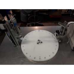 1537 - Remplisseuse boucheuse semi-automatique pour échantillons - Equimat - Machine neuve