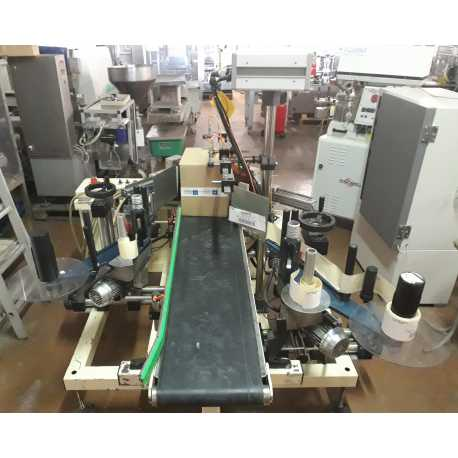 FRONT AND BACK ITE MODEL ETIQ 195 AUTOMATIC LABELING MACHINE