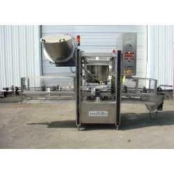 Capsuleuse sertisseuse rotative ZALKIN modèle CAPM-NG4ST - Matériel industriel d'occasion - Extérieur