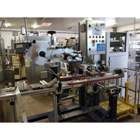 Altech labelling machine - Second-hand industrial equipment - front