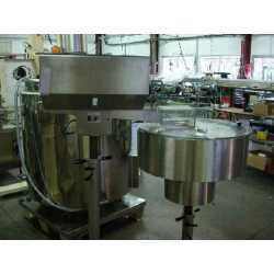 "Used ""without the bowl"" cap hopper - Second-hand cosmetic and pharmaceutical equipment"