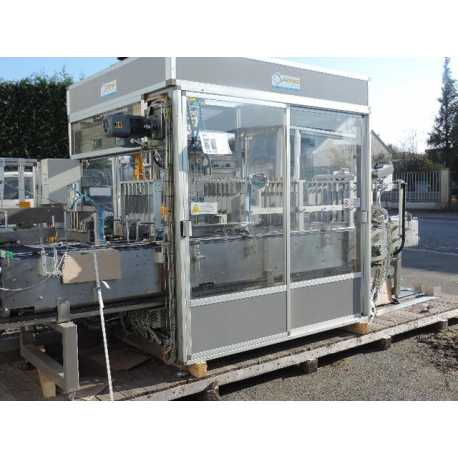 Used Italproject case packer for bottles - Second-hand cosmetic and pharmaceutical equipment - outside