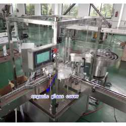 1549 - Automatic filling and capping machine for e-liquid and micro tubes