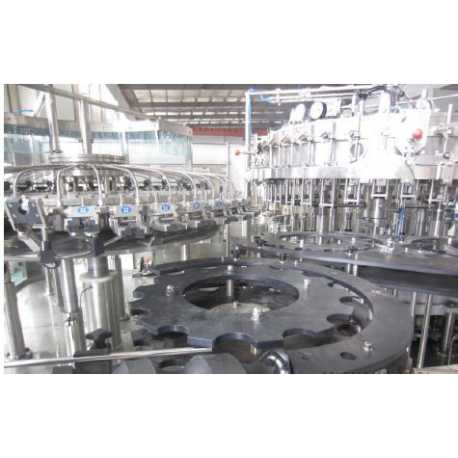 1553 - Beer filling capping 3 in 1 monoblock filling machine