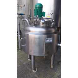 4337 - Soleri melting tank - 200 L double jacket