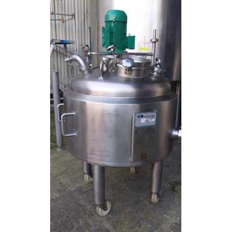 4337 - Soleri melting tank - 200 L double jacket