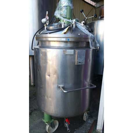 4336 - Double jacket melting tank 200 L