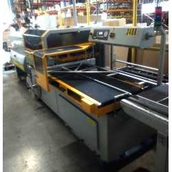 1997 - Automatic SMIPACK FP 8000 CS wrapping machine and skrink tunnel T652