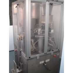 Used MG2 capsule filling machine model Compact - Second-hand cosmetic and pharmaceutical equipment - side