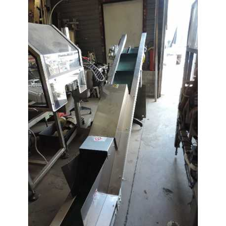 Used stainless steel industrial elevator - Second-hand cosmetic and pharmaceutical equipment