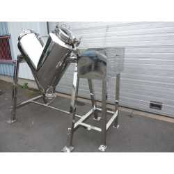 New V-shaped stainless steel 316 mixer - Cosmetic and pharmaceutical equipment - outside