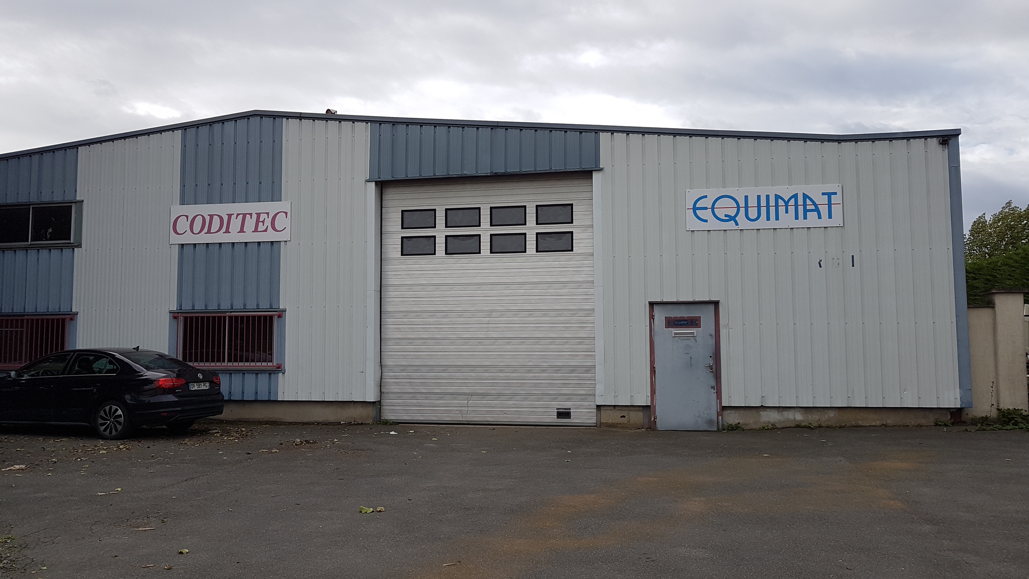 site EQUIMAT CODITEC Tournan en Brie